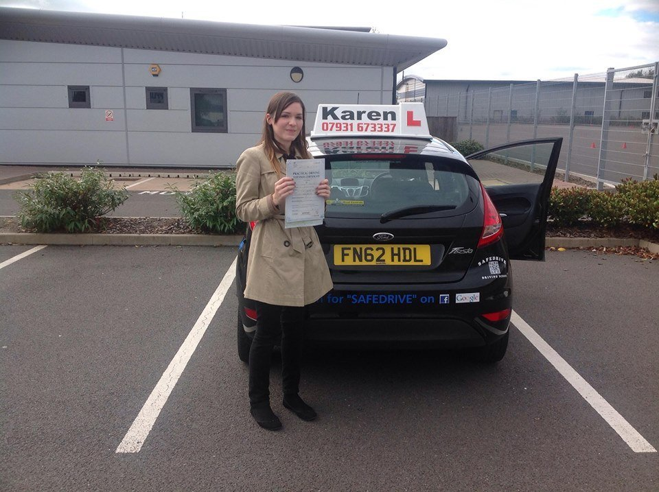 Driving Test 4th October.Kelly from Shrewsbury