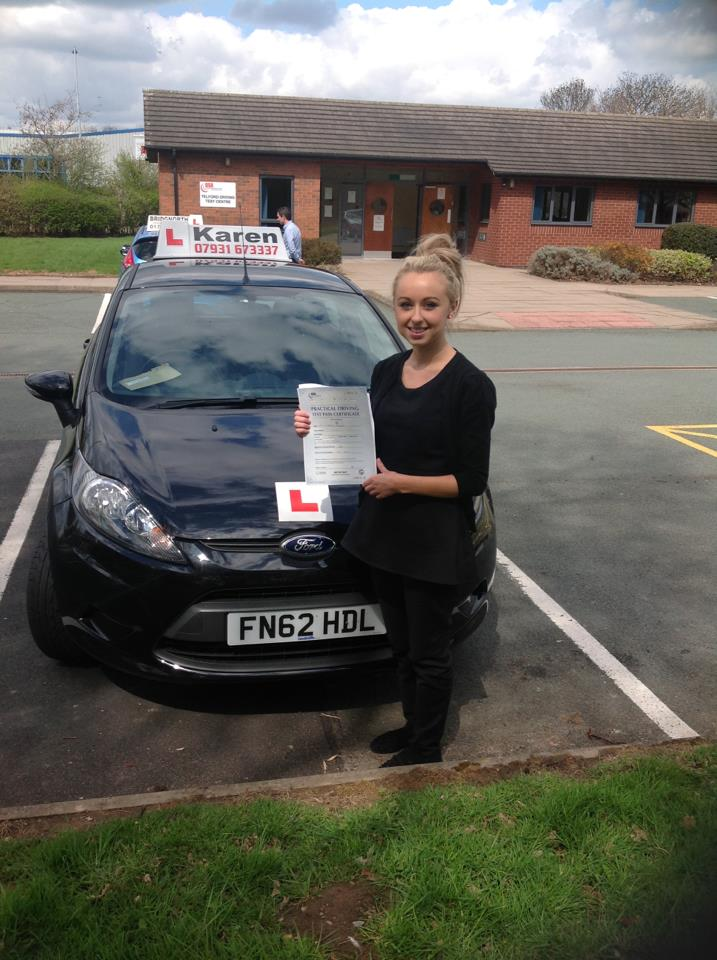 Passed 30th April: Sharney from Telford