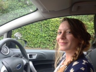 samantha passed Practical Driving Test on 7th September 2014