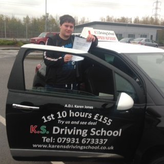 Congratulations to Luke Mills Passed Practical Driving Test 11th November