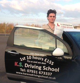Passed 18th November Thomas Robinson from Shrewsbury School