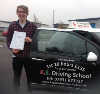 Congratulations to Douglas Coull Passing his Practical Driving Test