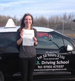 Jordanna Fay Hall Passed her Practical Driving Test 11th March