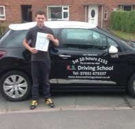 Adrian Griffiths Passed 1st Time in Shrewsbury 20th August