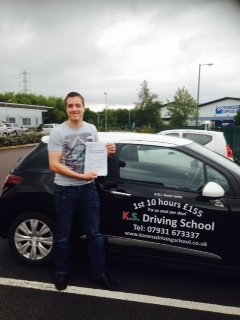 Driving Lessons Shrewsbury Daniel Barnett Passed 1st Time
