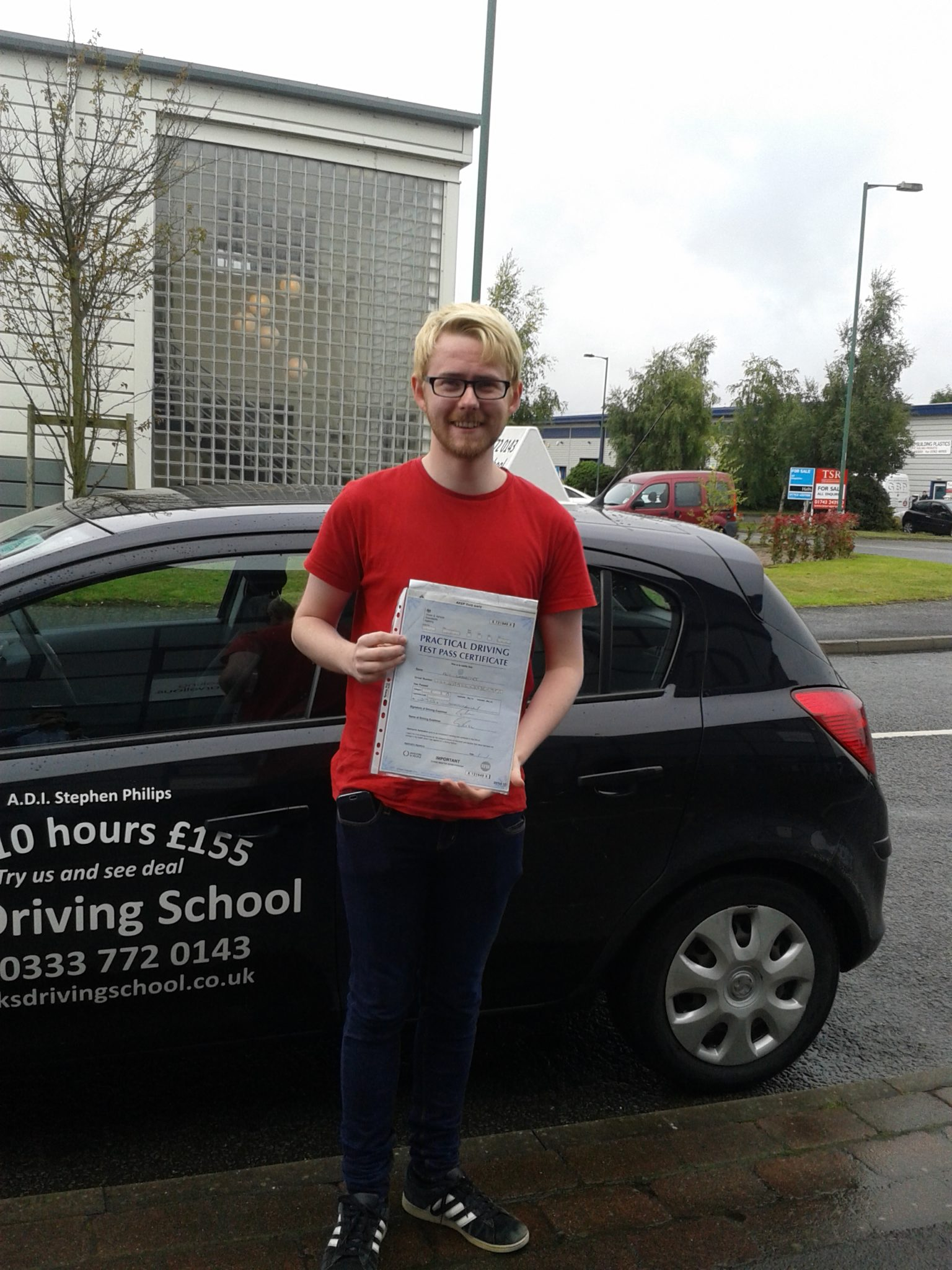 Driving Lessons Shrewsbury Roy Woodyet Passed on 3rd September
