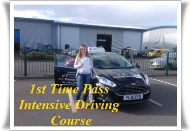 Diana Gormley Passed her Practical Driving Test in Shrewsbury
