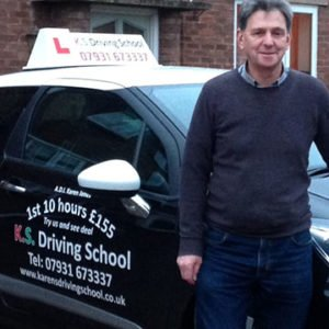 Stephen Phillips took Standard test training with k.s.driving school got grade A