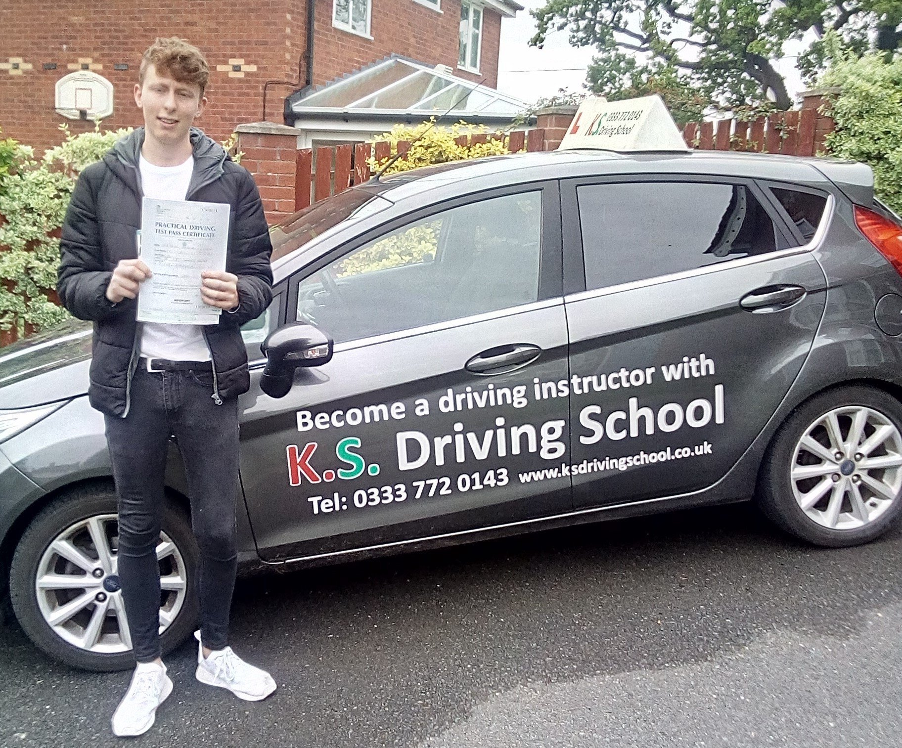Congratulations on Luke Dennis Roycroft on passing in Whitchurch.