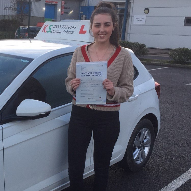Congratulations to Romy Payne who passed her driving test 1st time