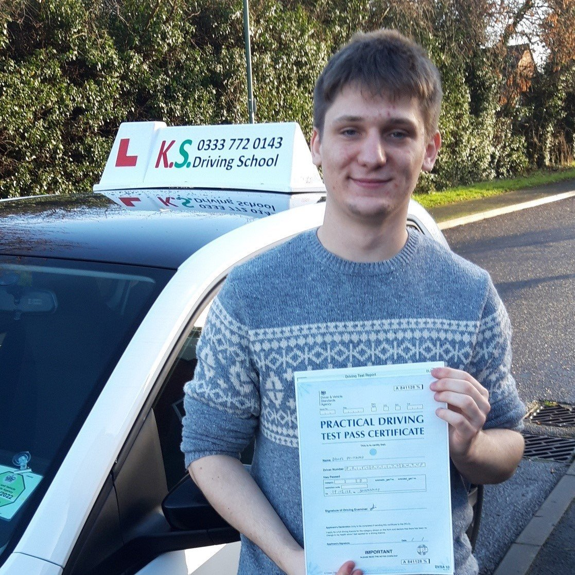 Driving Test Pass in Shrewsbury (2)