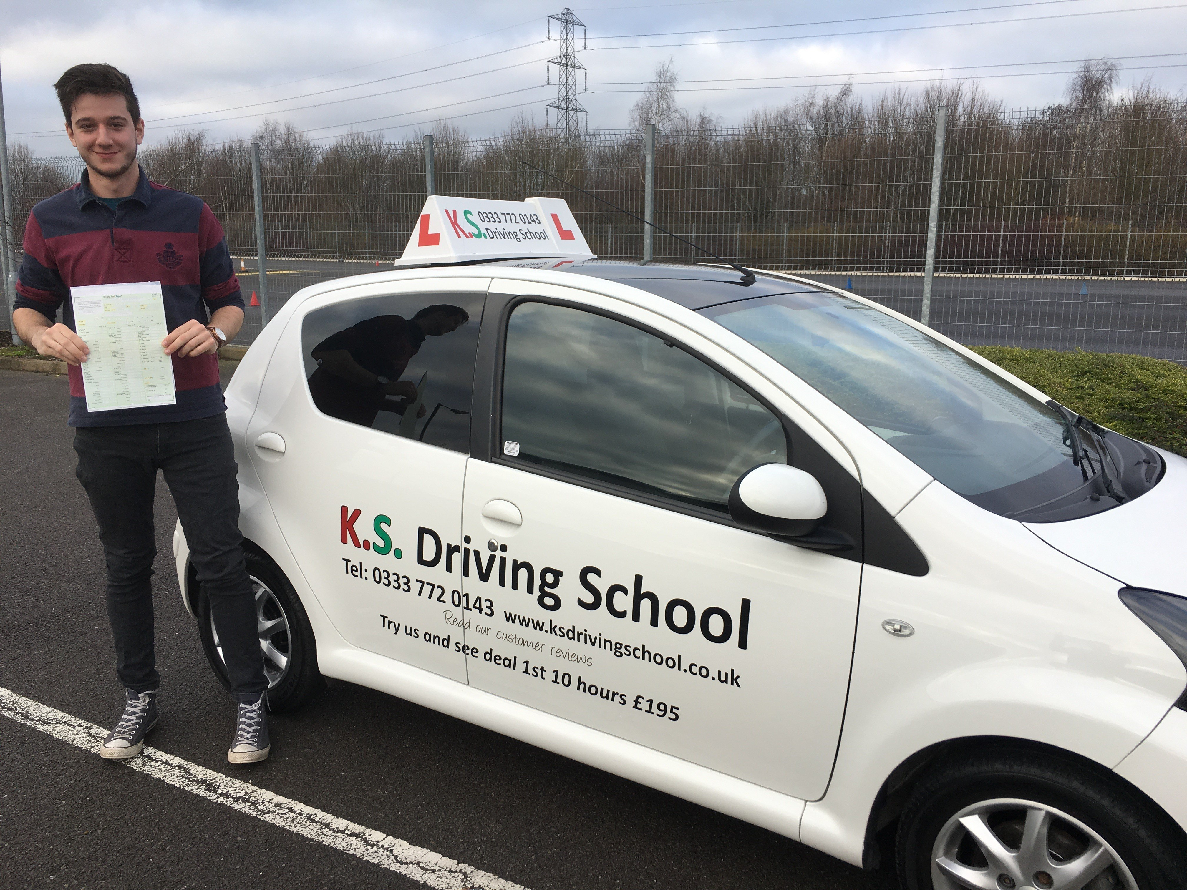 Driving Test in Shrewsbury on 27th December