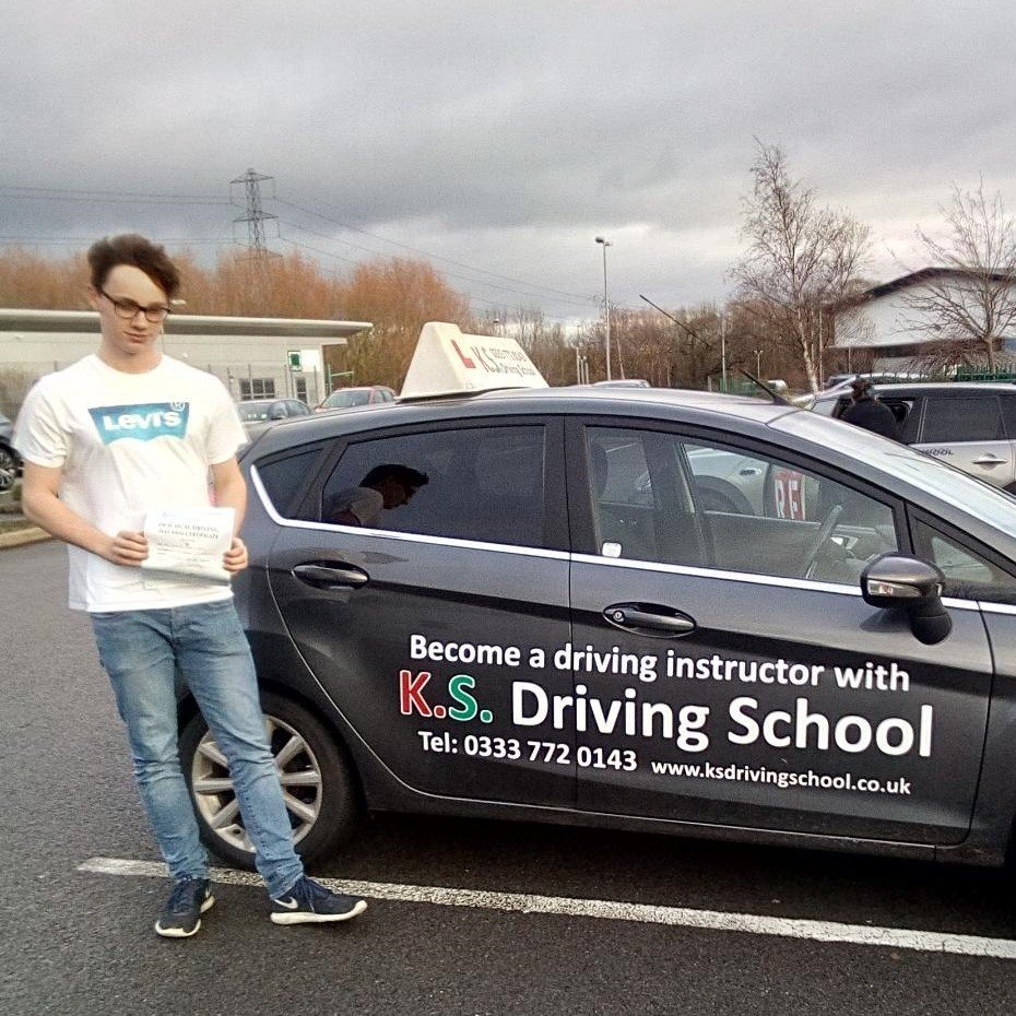 Congratulations to Stanley Bates on passing