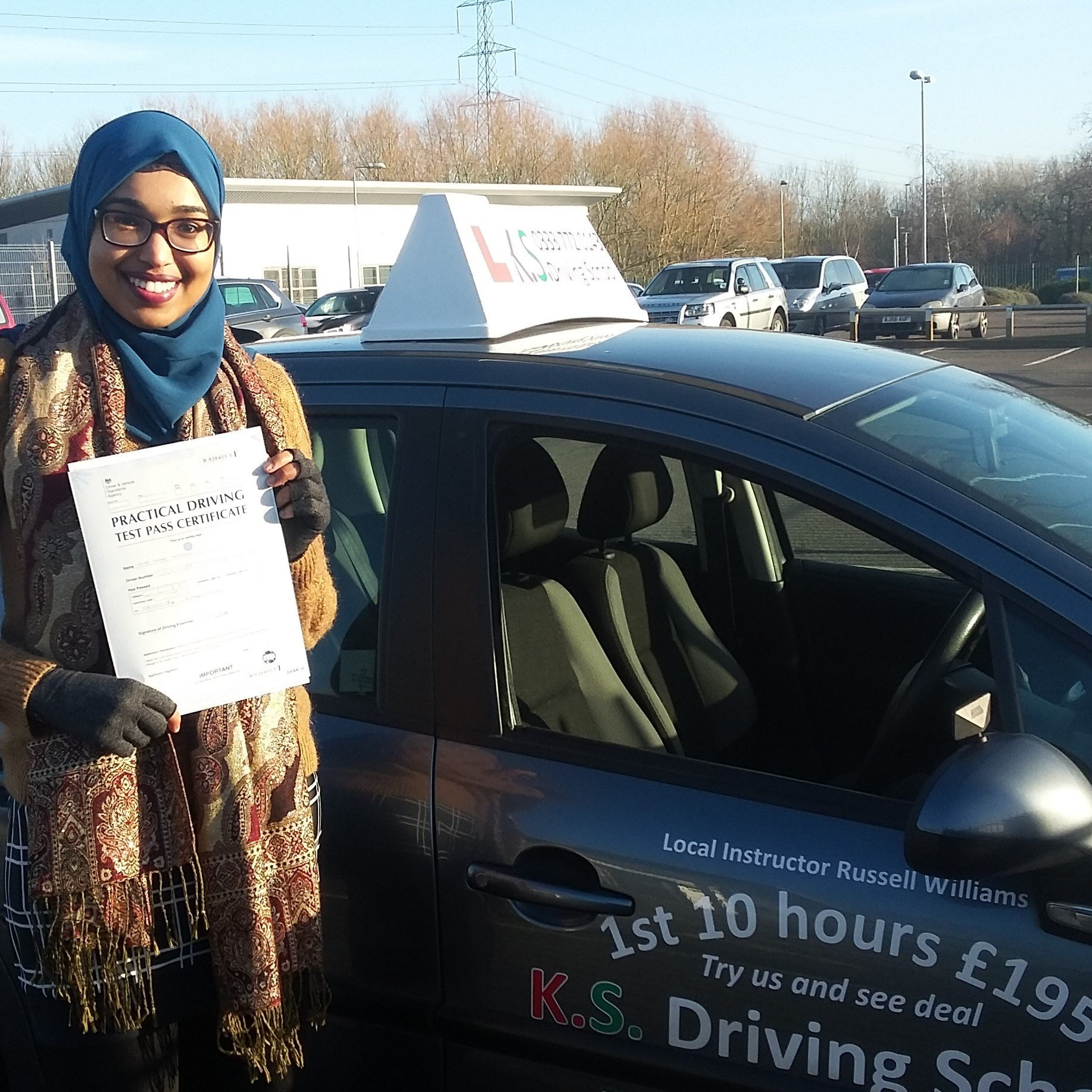 2nd January Driving Test Pass in Shrewsbury