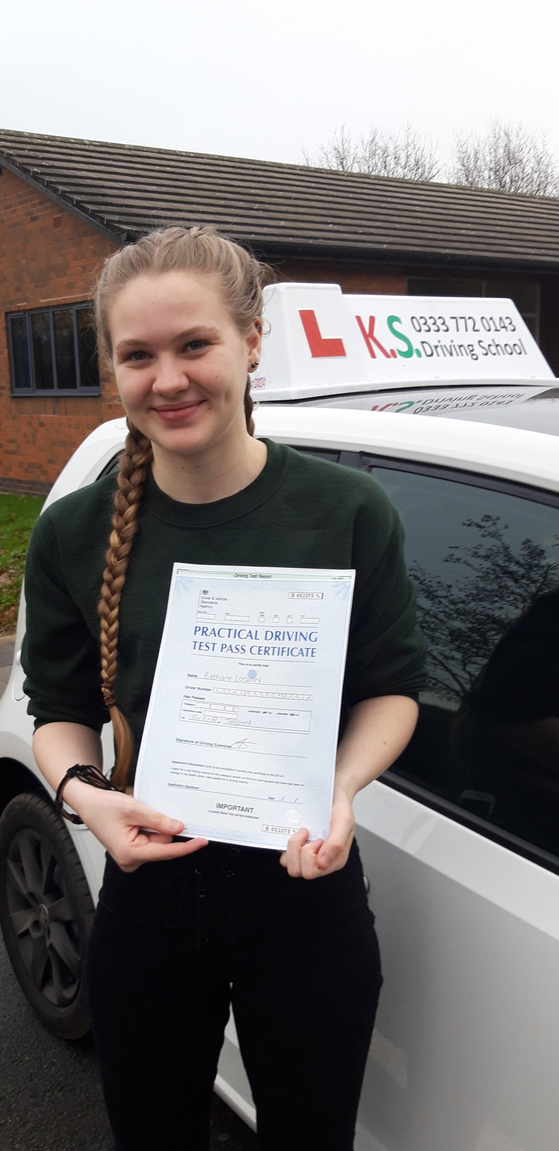 Driving Test Telford 1st attempt Pass