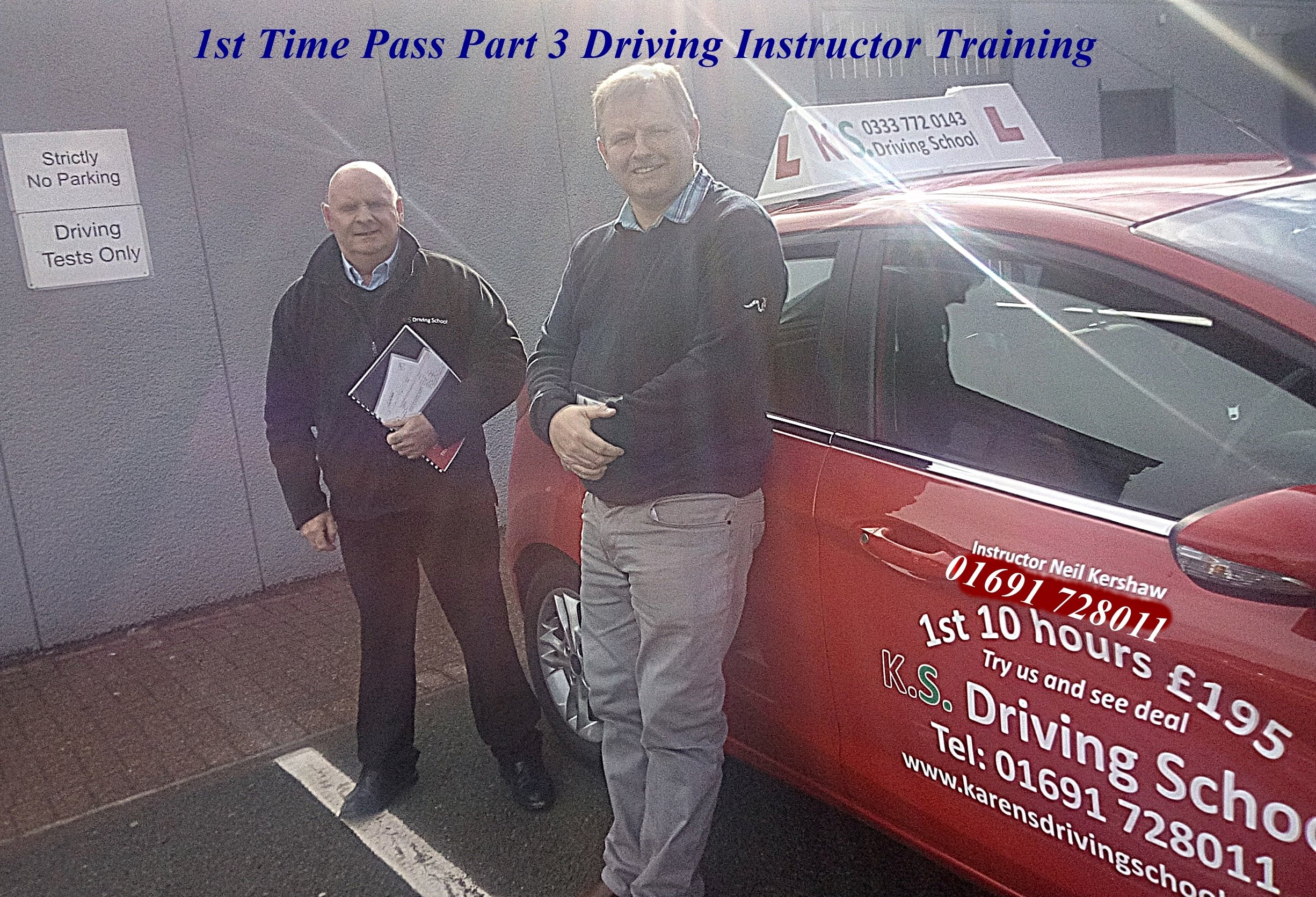 1st Time PASS Part 3 Driver Instructor Training