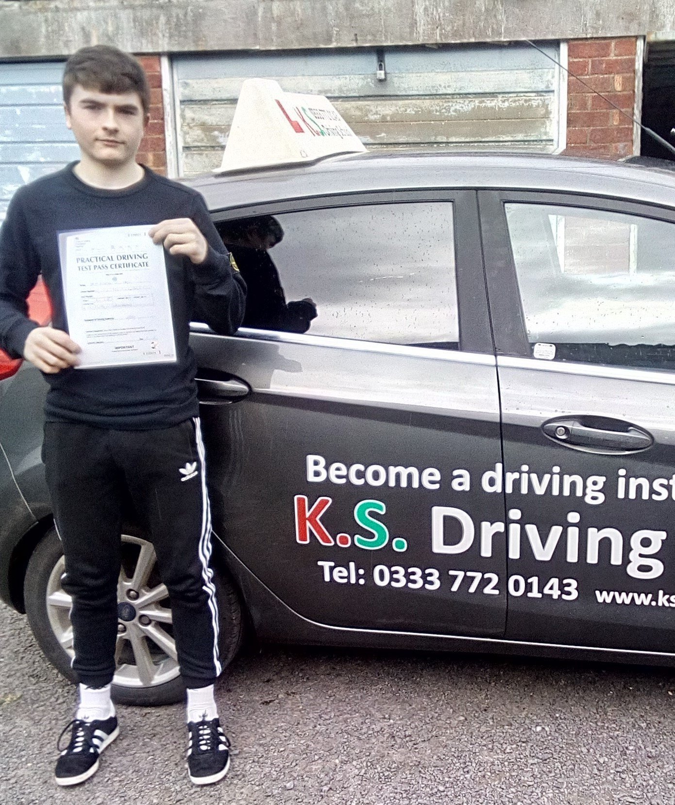 Congratulations to Kieran Williams passing