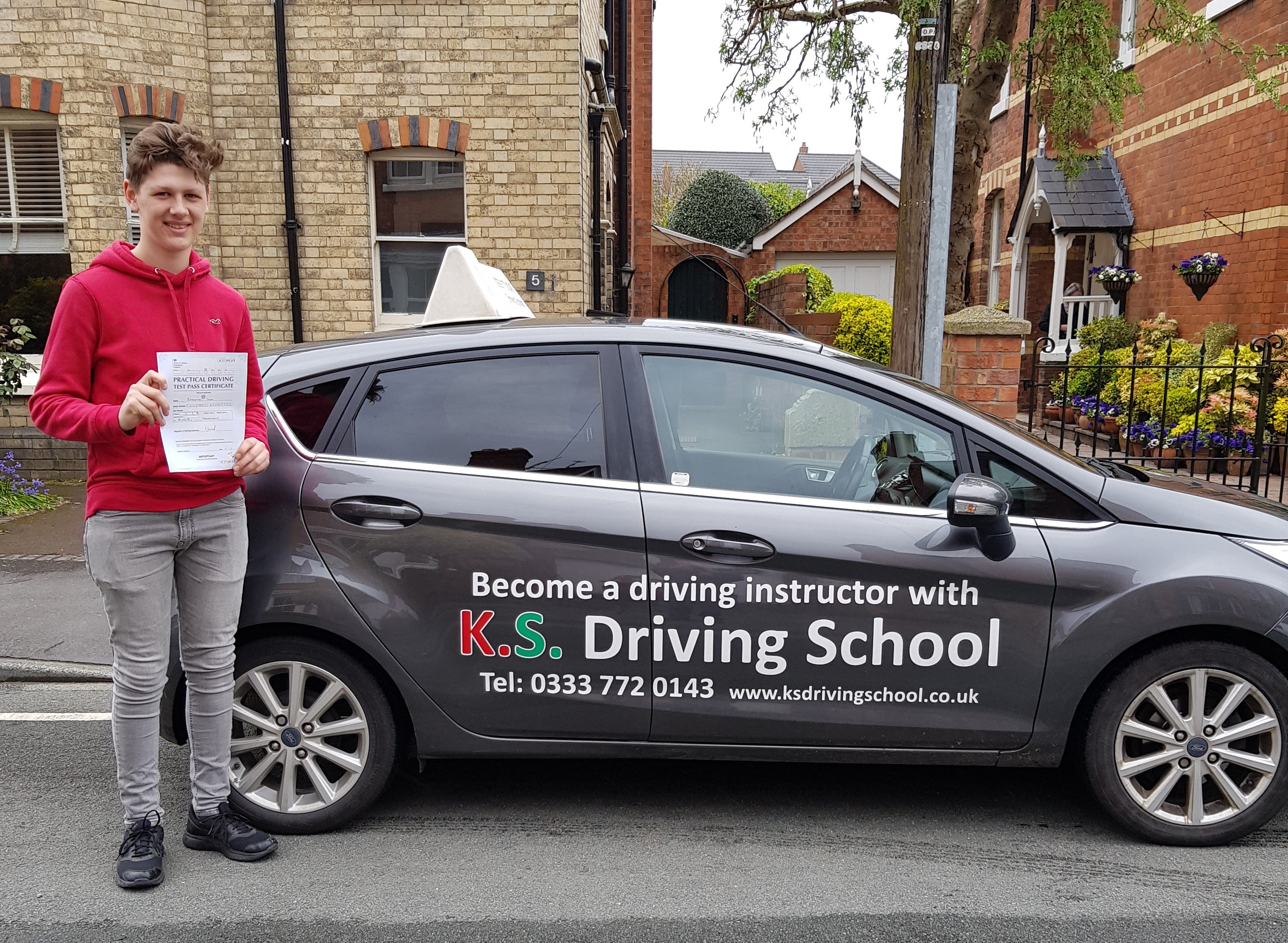 Driving Lessons Shrewsbury Test Pass for Seb Ivos