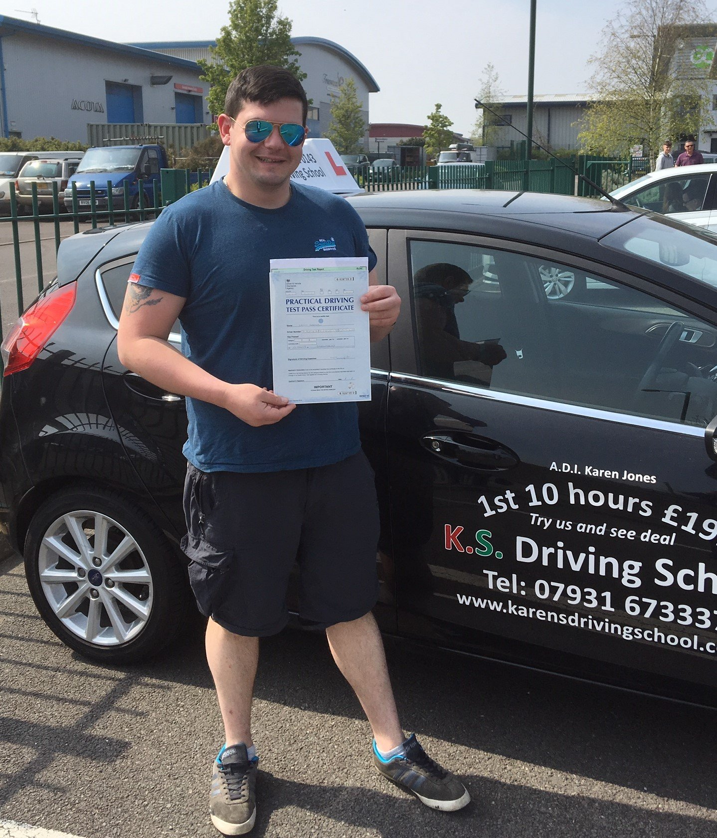 Driving Test Pass in Shrewsnury 17th April