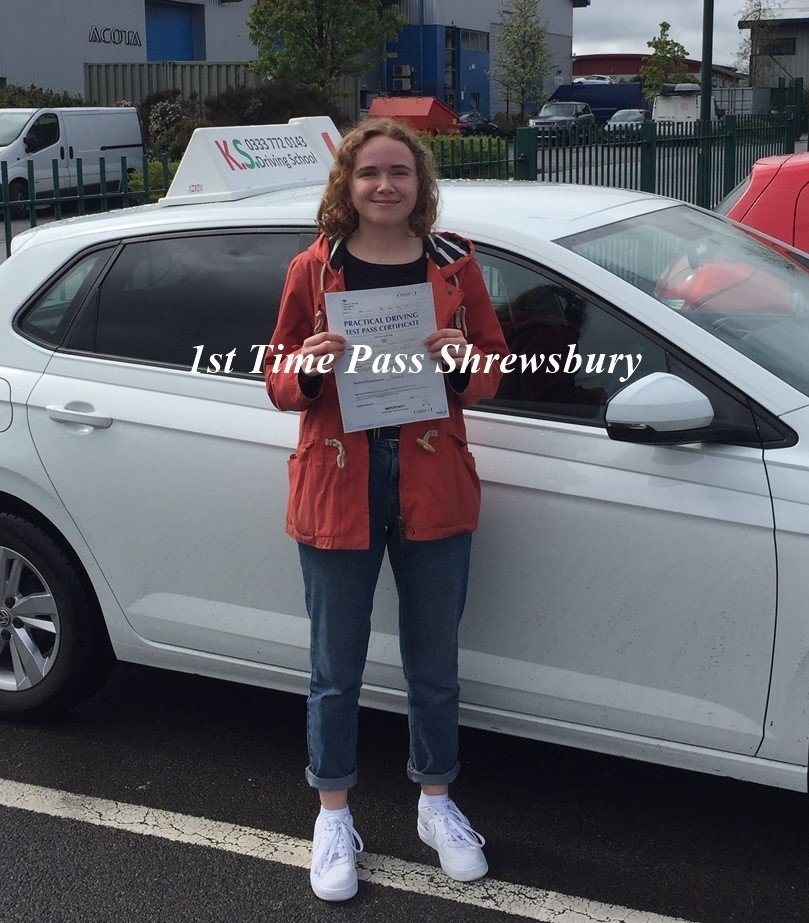 Emily Lightwood Passed 1st time 3ed April