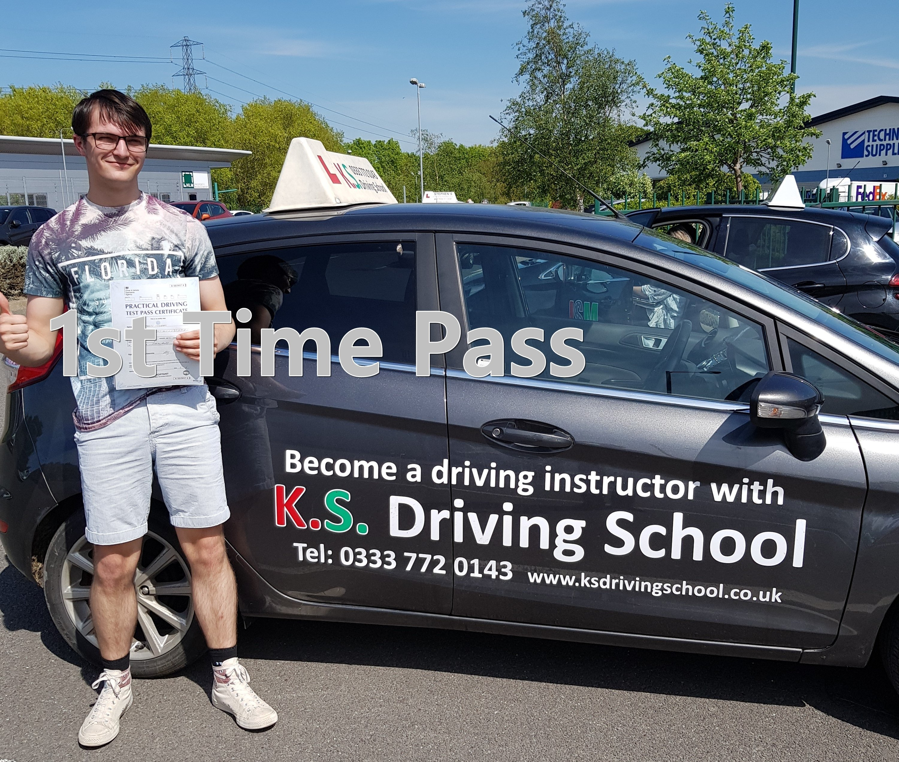 1ST Time Pass for James Ingram Shrewsbury