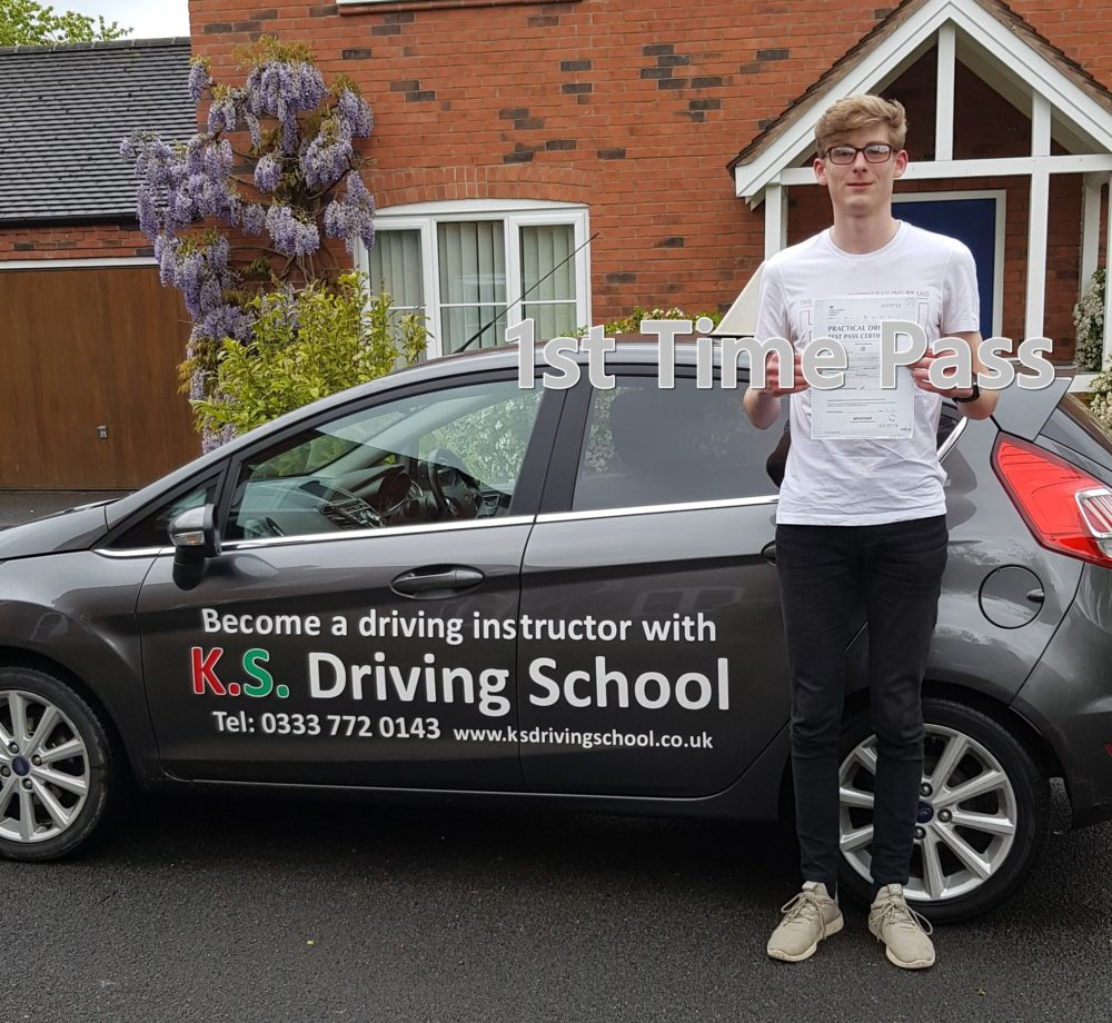 Driving Test Shrewsbury 1st Time Pass