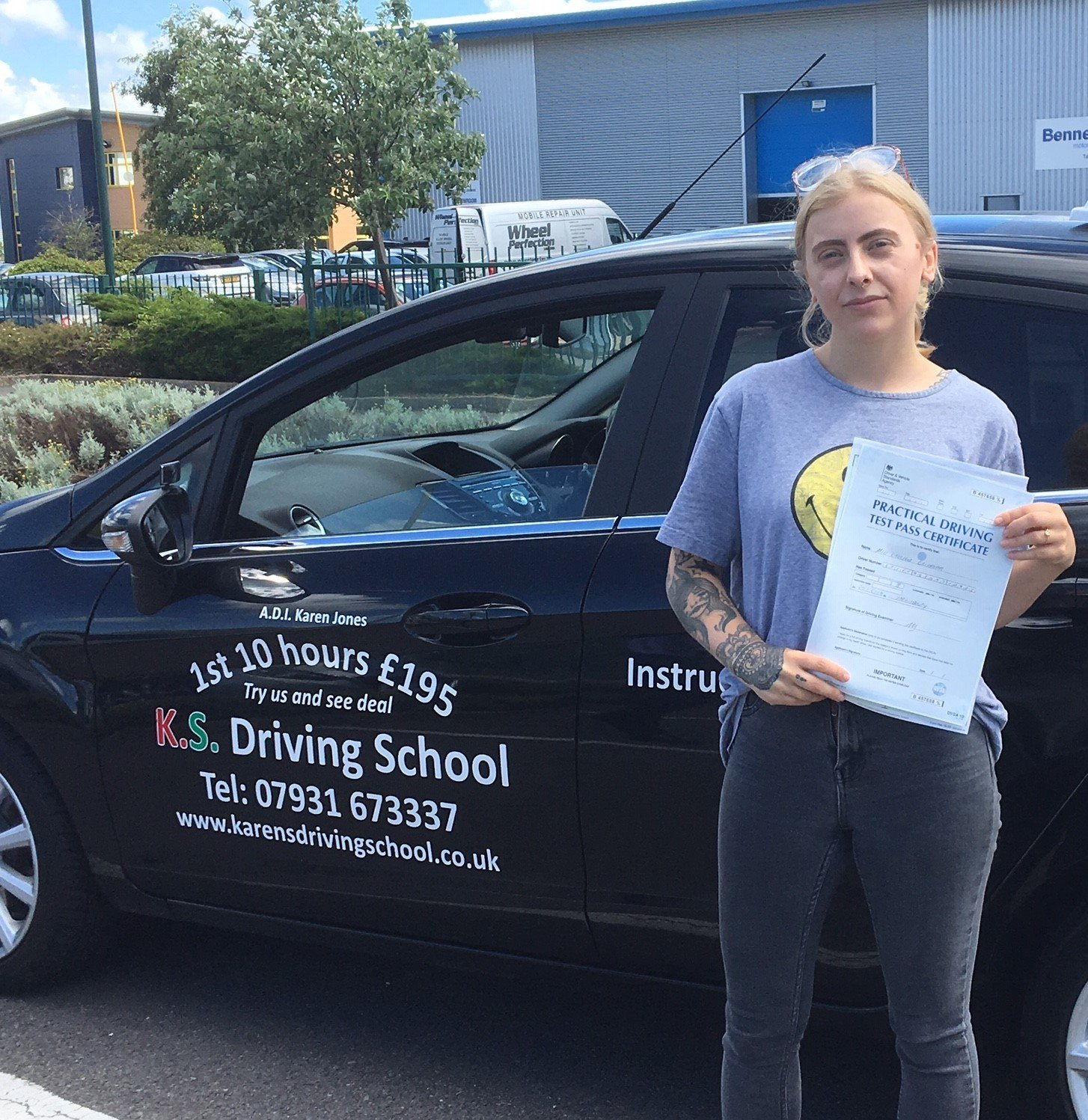 Driving Lessons Shrewsbury Chelsea Griffiths