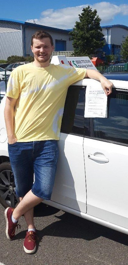 Driving Test Pass for Howard