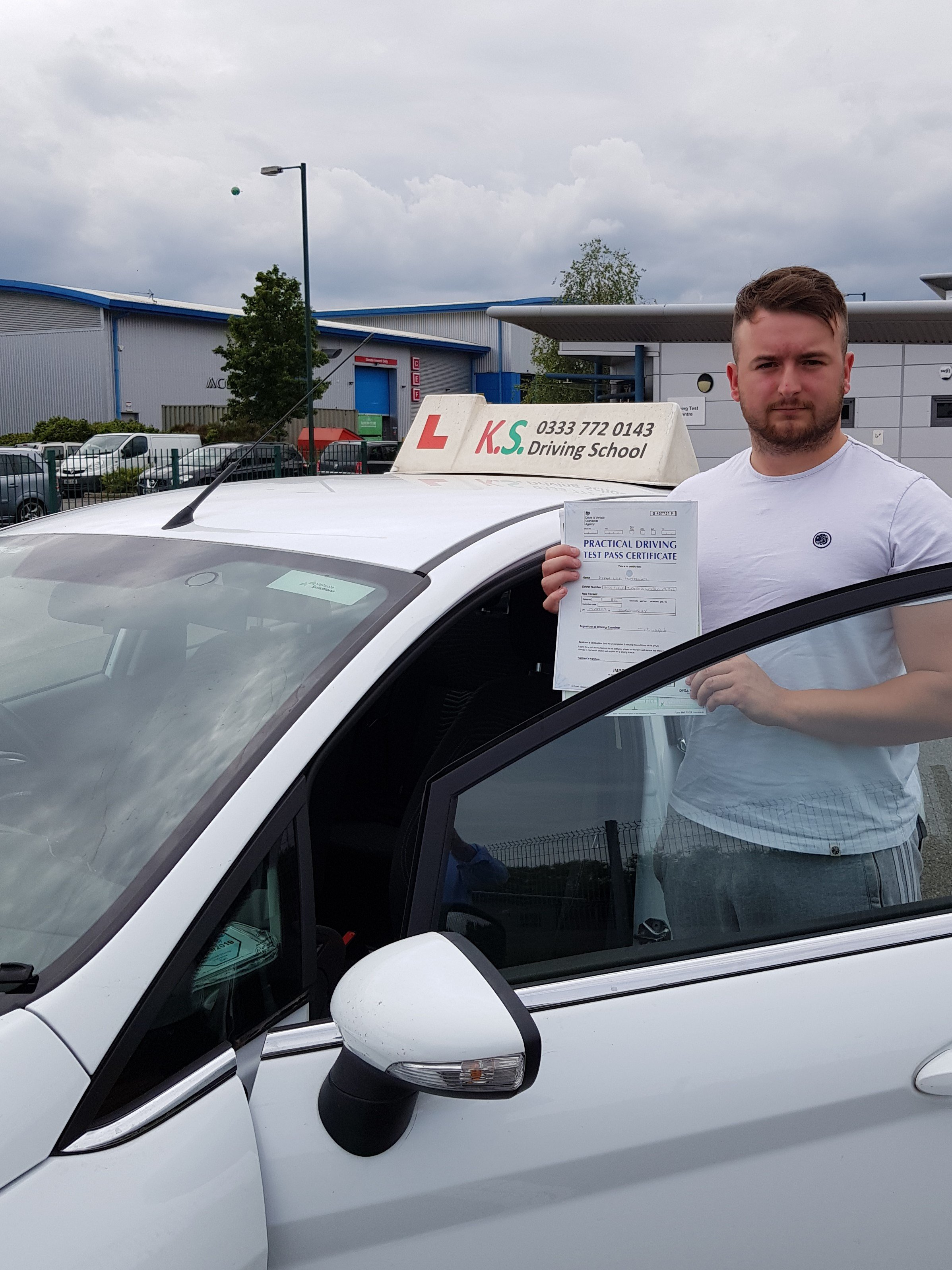 riving Test Pass 17th July in Shrewsbury