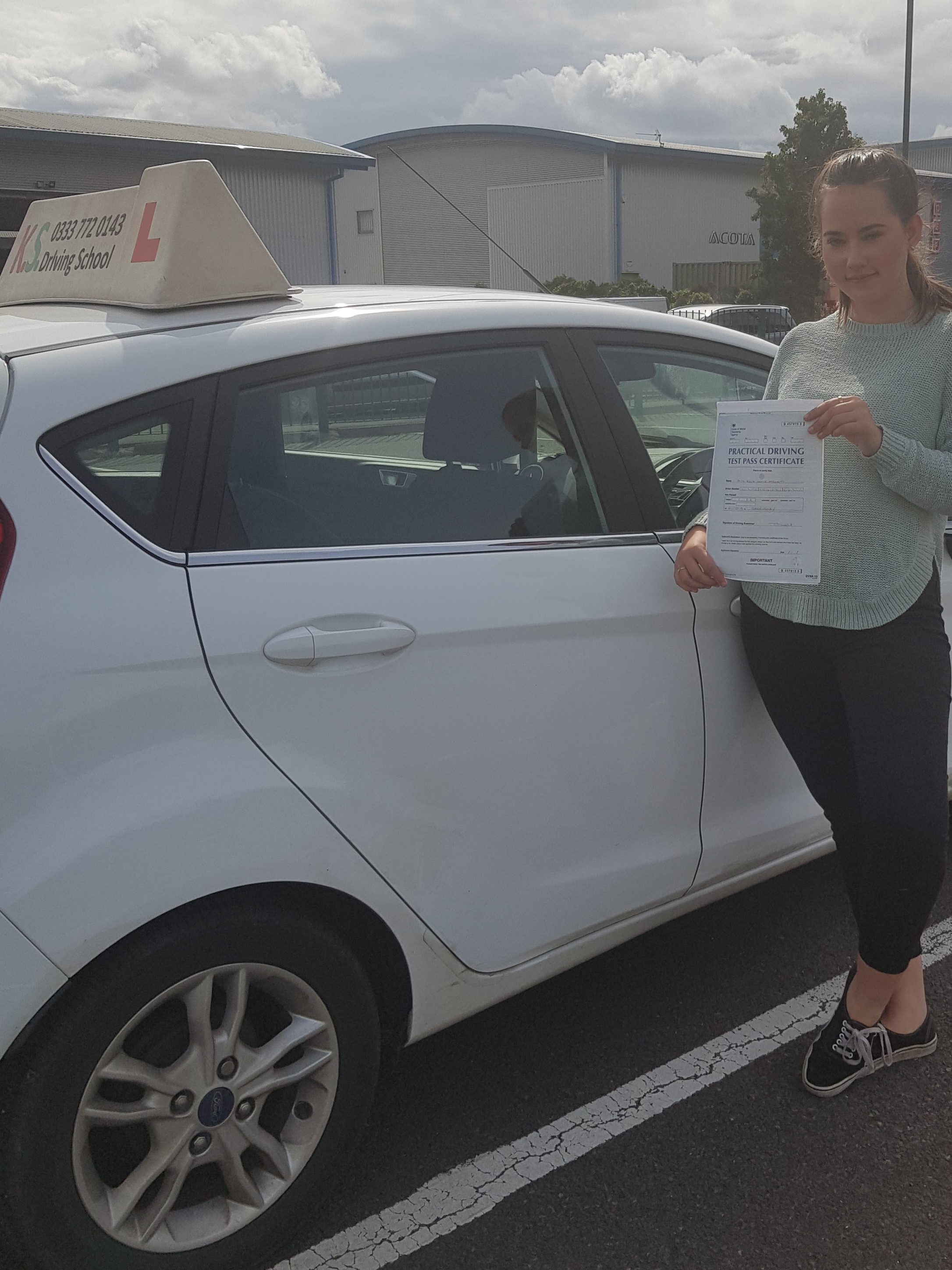Driving Test Pass Shrewsbury 21st August
