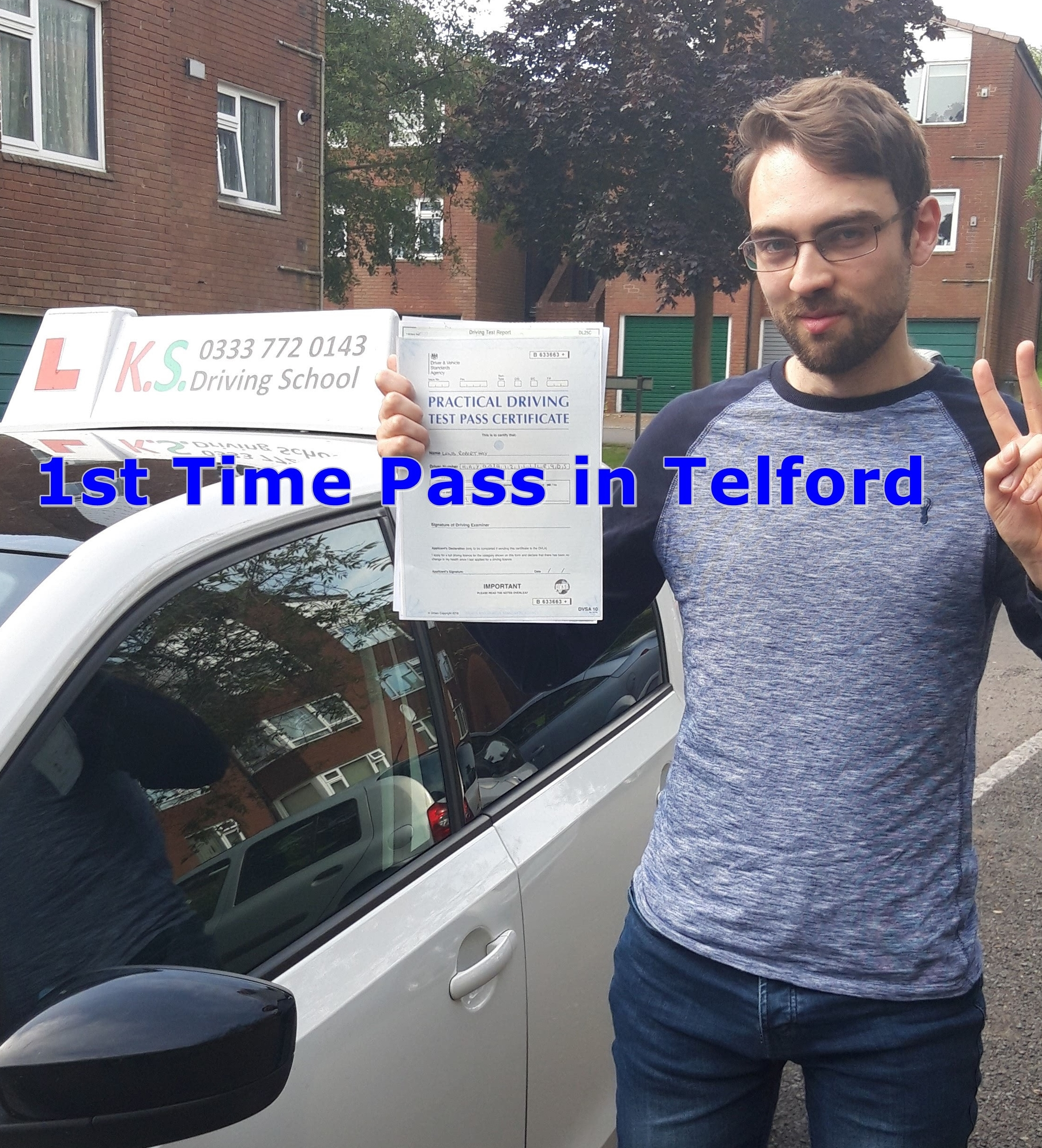 Driving Test Pass in Telford 1st Time