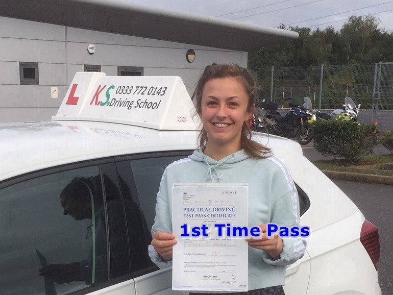 Driving Test Pass Shrewsbury 1st Time 4th October