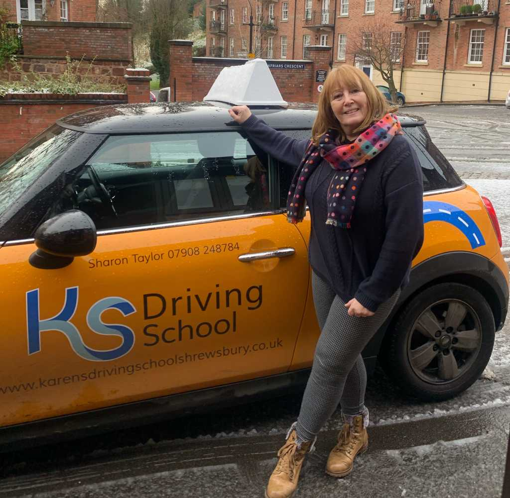 Driving Instructor Sharon Taylor