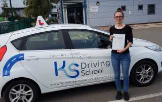 Congratulations to Laura Bonella-Foster who passed her driving test today 24th September