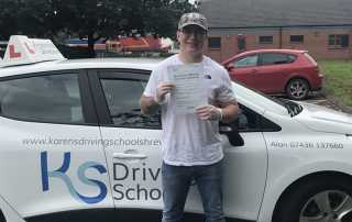 FIRST TIME PASS!!!