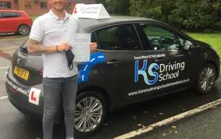 Welcome Kevin to the world of being a Driving Instructor