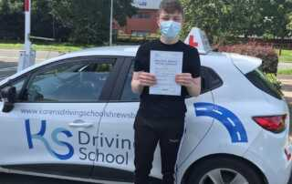 Driving Lessons TelfordWell done Archie Worthing