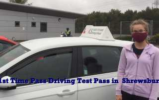 Congratulations to Anne-Mari Mikkonen who passed her driving test 1st time on Saturday 3rd October