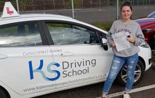 Driving Test Pass Shrewsbury 14th October