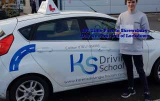 Driving Test Pass 1st Day out of Lockdown