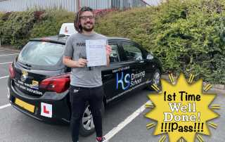 Another Driving Test Pass in Telford