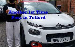 Driving Test Pass Telford