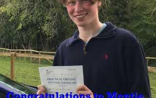 Congratulations to Montie
