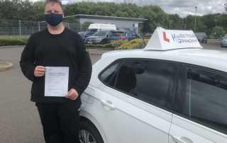 Driving Test Pass In Shrewsbury 07 july