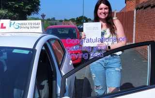 Congratulations to Madeleine Enticknap