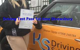 Well done to Emily who passed her test 1st time