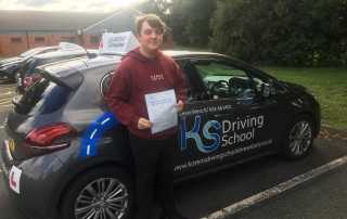 Congratulations to Jay on passing